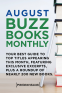 Cover Image: August 2017 Buzz Books Monthly