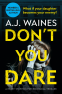 Cover Image: Don't You Dare