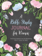 Cover Image: A Bible Study Journal for Women - SAMPLE