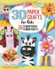 Cover Image: 3D Paper Crafts for Kids