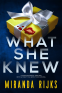 Cover Image: What She Knew