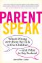 Cover Image: ParentSpeak